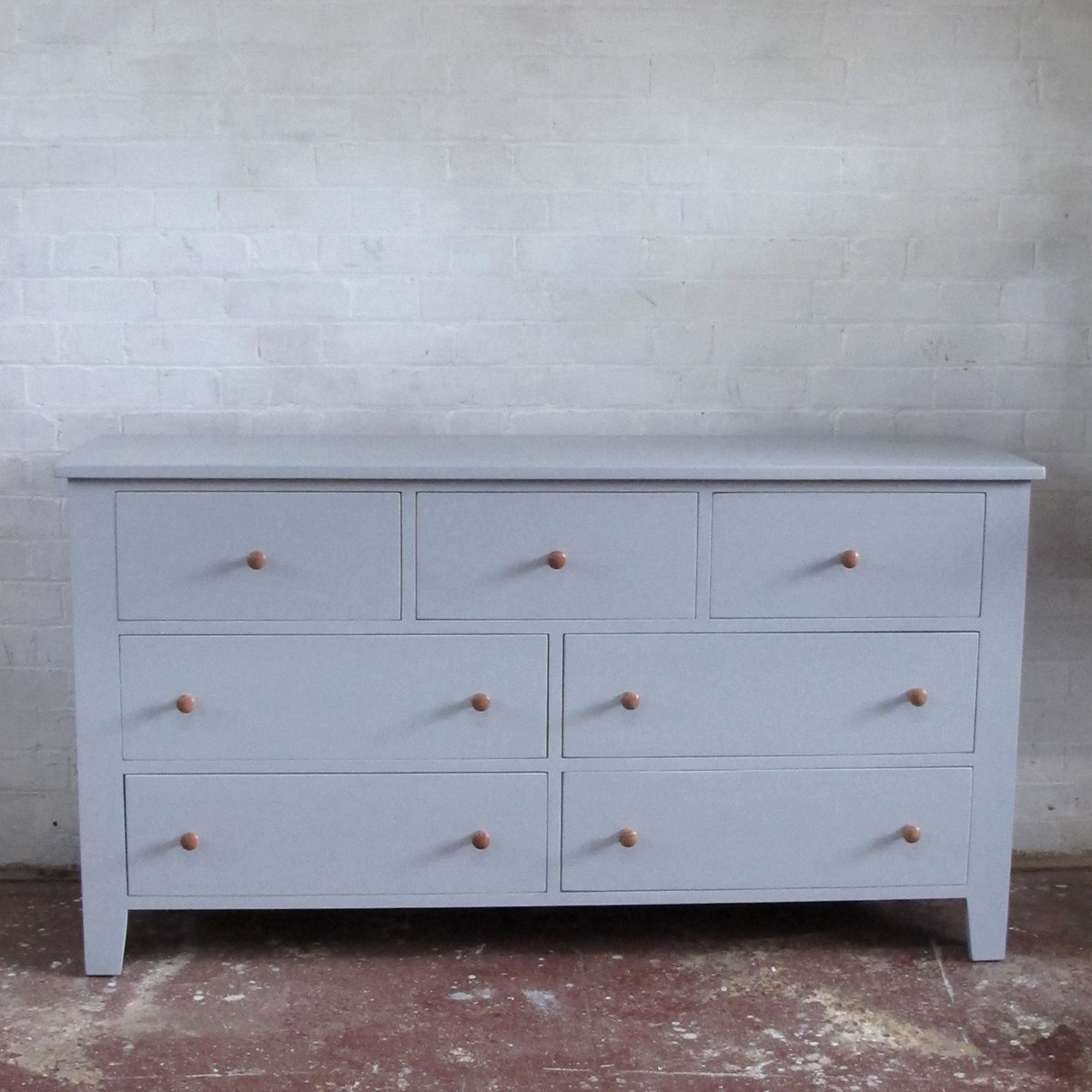7 Drawer Low Chest