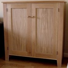 Jelly cabinet oak