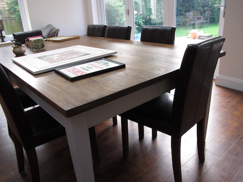Dining Table, 1M W x 2M L
