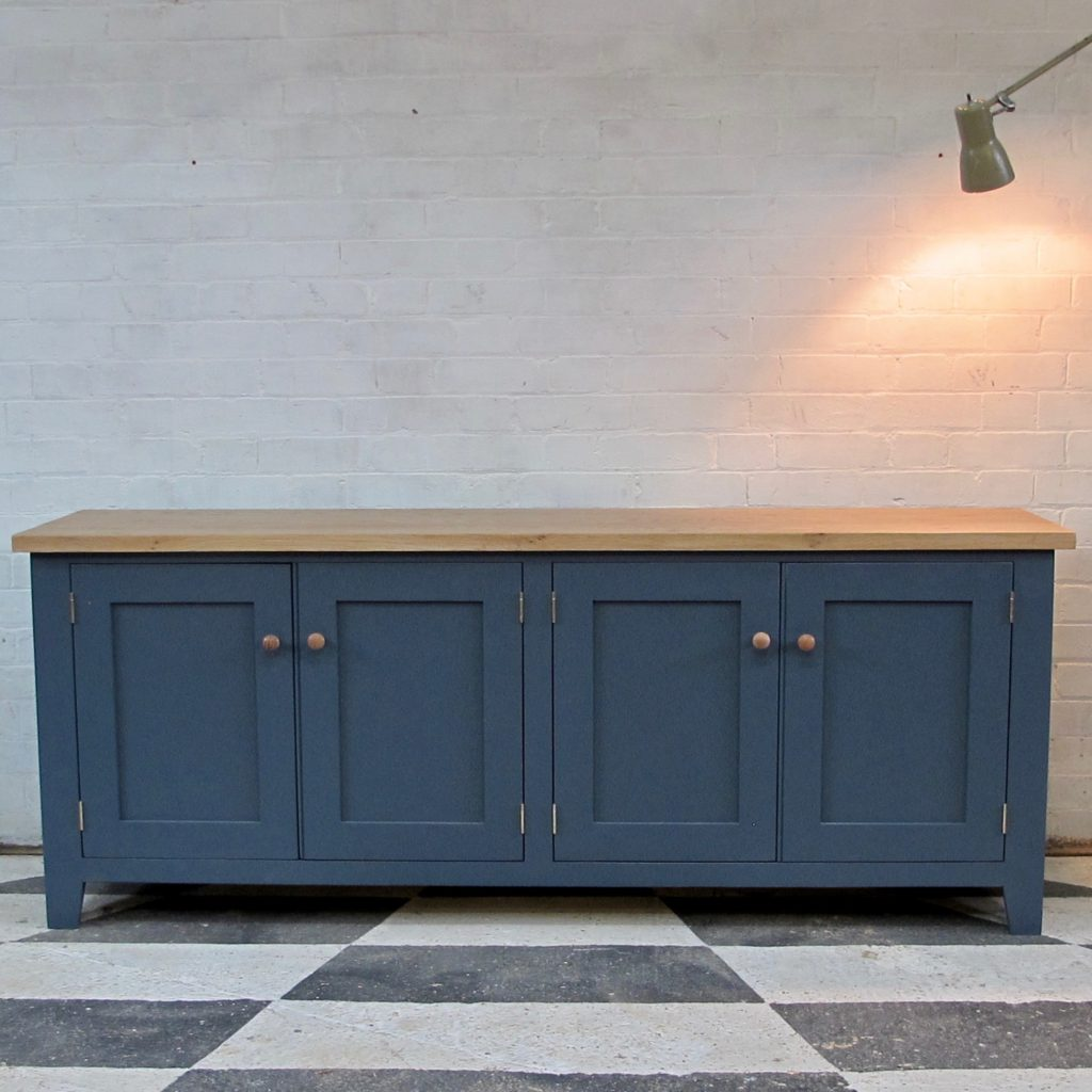 Providence_sideboard_Paynes_Grey_front_view