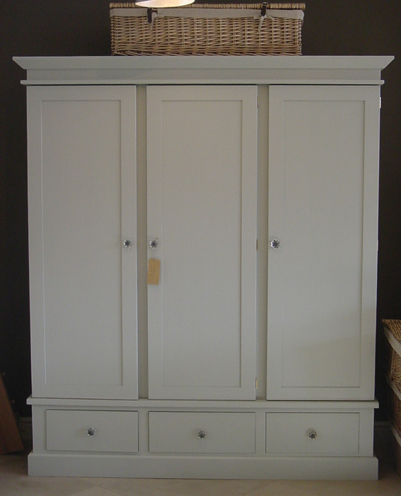 Triple Wardrobe, painted