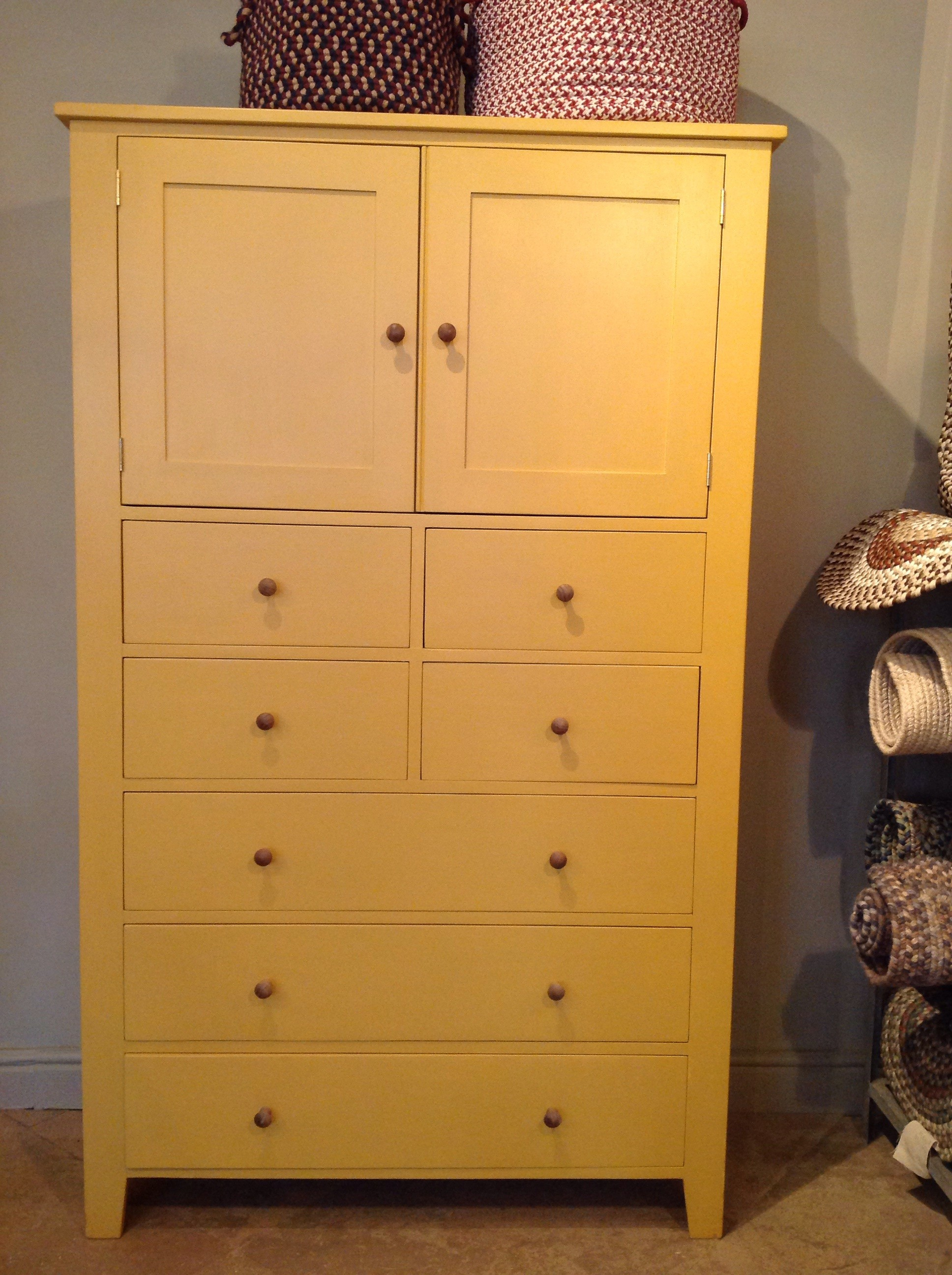 Tall Shaker Cupboard